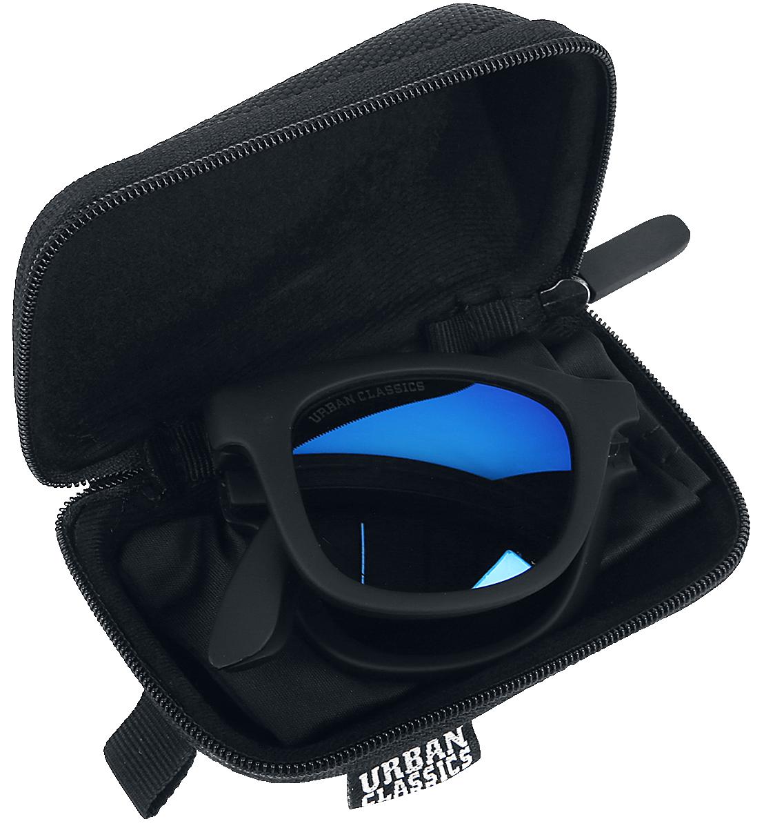 Urban Classics - Foldable Sunglasses With Case - Sonnenbrille - schwarz