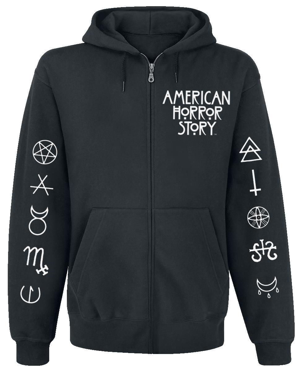 American Horror Story - Normal People - Hooded zip - black image