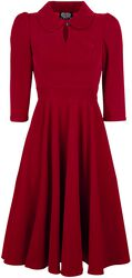 Glamourous Velvet Tea Dreams Dress