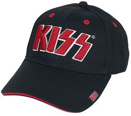 Red on White Logo - Baseball Cap