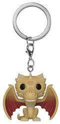 Regular Viserion Pop! Keychain