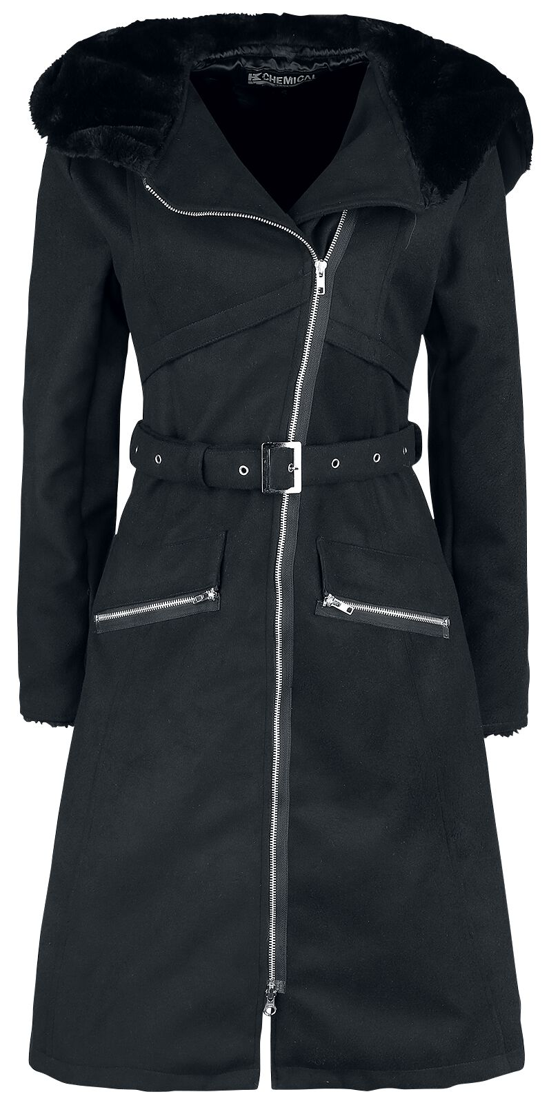 Jacken - Chemical Black Kiara Coat Mantel schwarz  - Onlineshop EMP