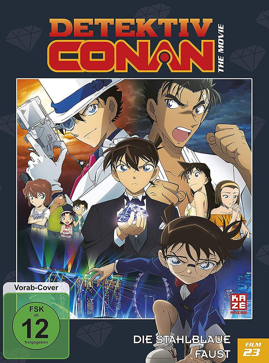 Detektiv Conan 23. Film - Die stahlblaue Faust  DVD  Standard