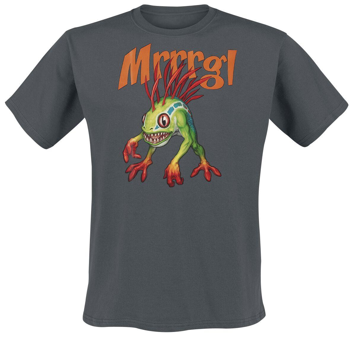 World Of Warcraft Murloc T-Shirt dunkelgrau ABYTEX490
