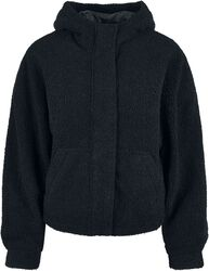 Ladies Short Sherpa Jacket