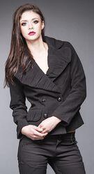 Jacken mit großem Kragen