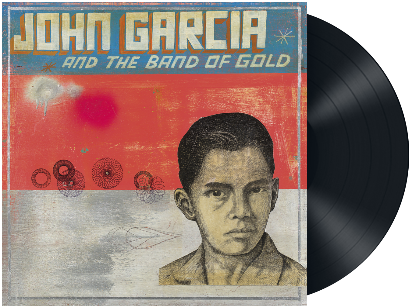 John Garcia - John Garcia and the band of gold - LP - standard