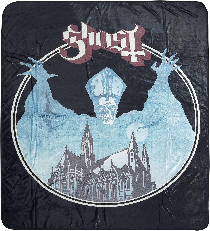 Ghost   Decke  schwarz