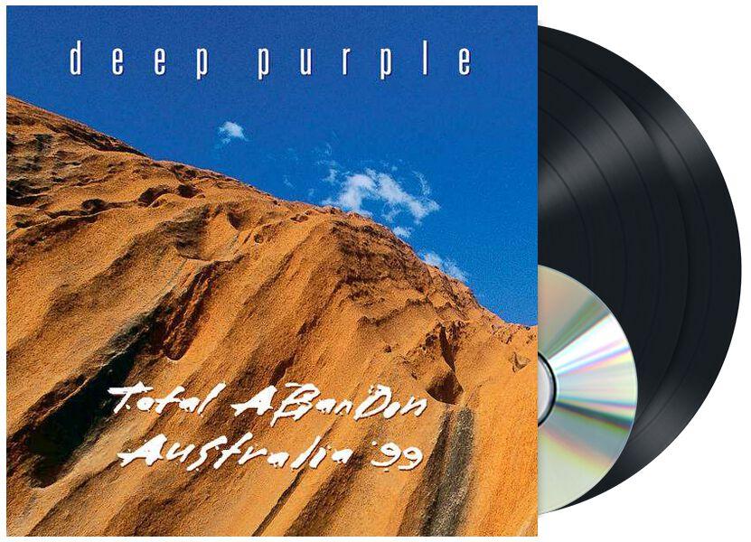 Image of Deep Purple Total abandon - Australia '99 2-LP & CD Standard