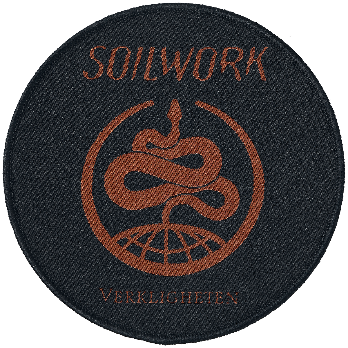 Image of Soilwork Verkligheten CD & Patch Standard