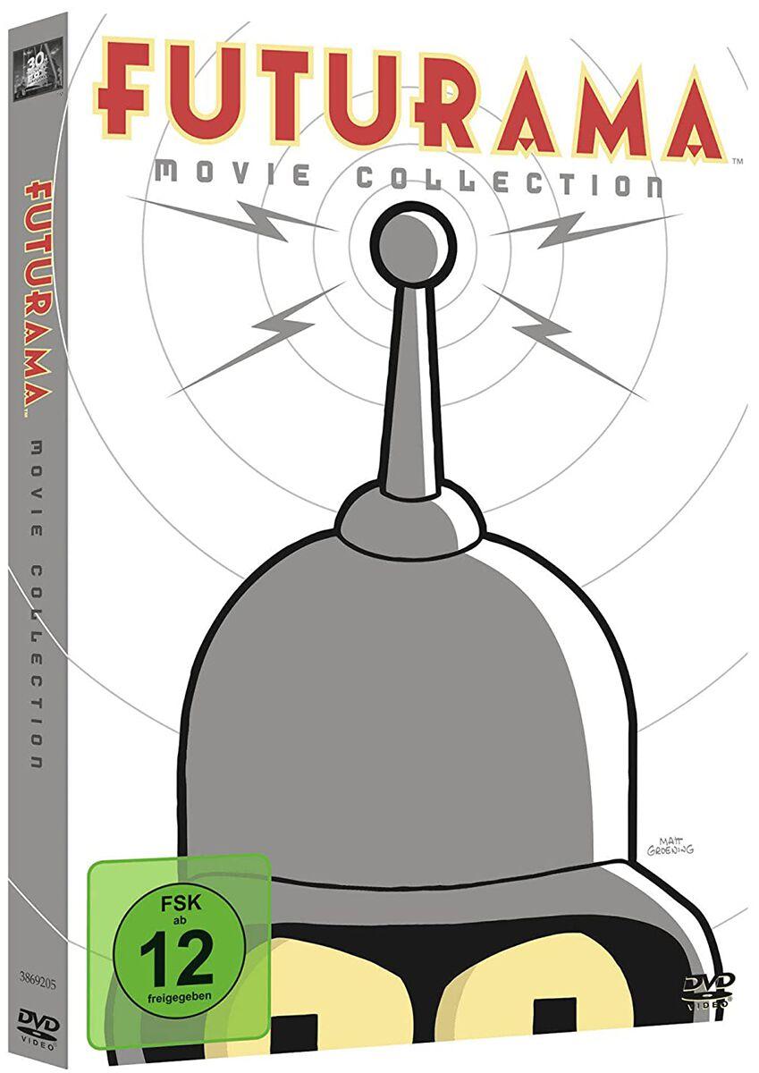 Image of Futurama Movie Collection 4-DVD Standard