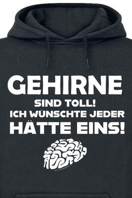 Gehirne sind toll! Ich wünschte jeder hätte eins!