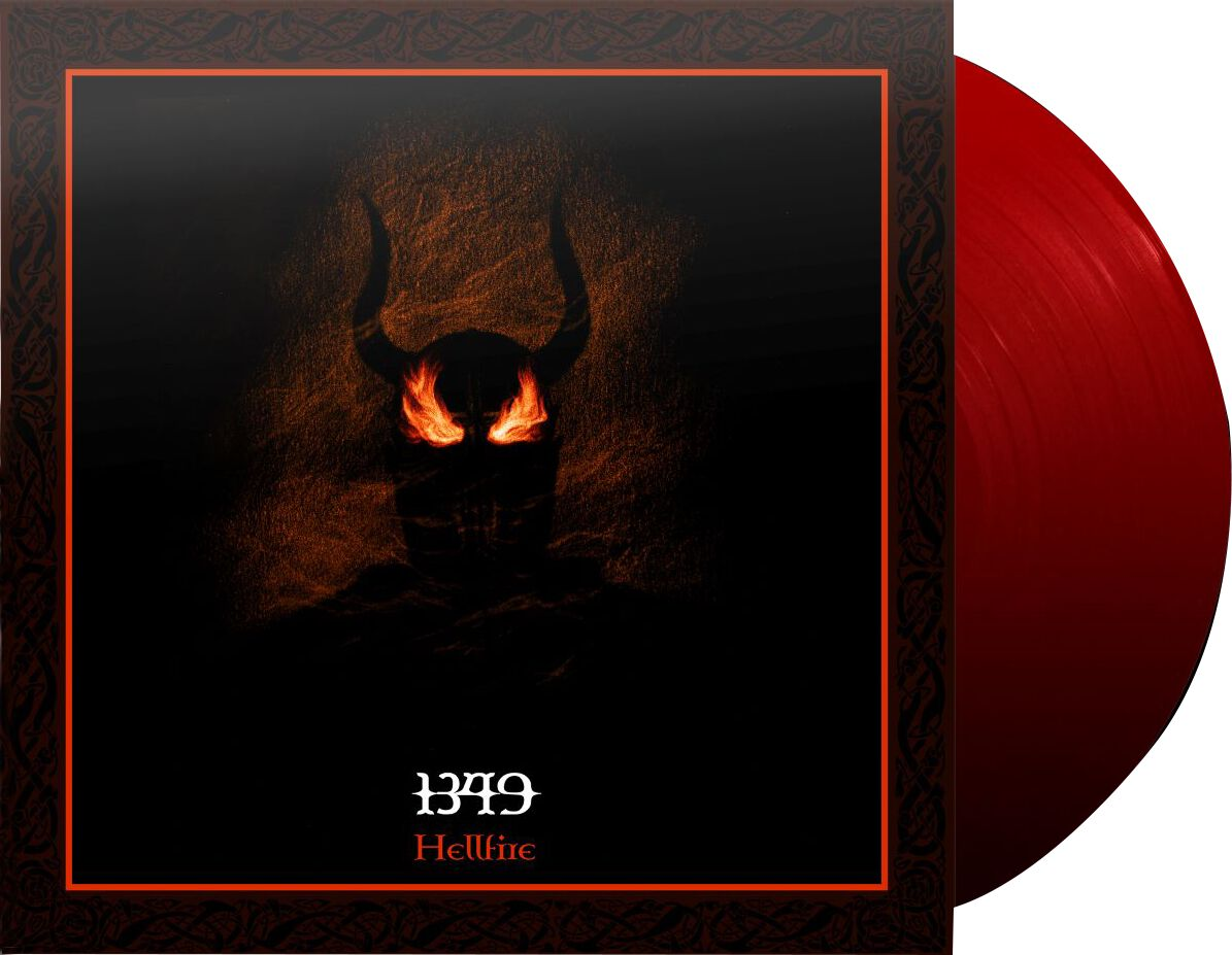 Image of 1349 Hellfire 2-LP rot