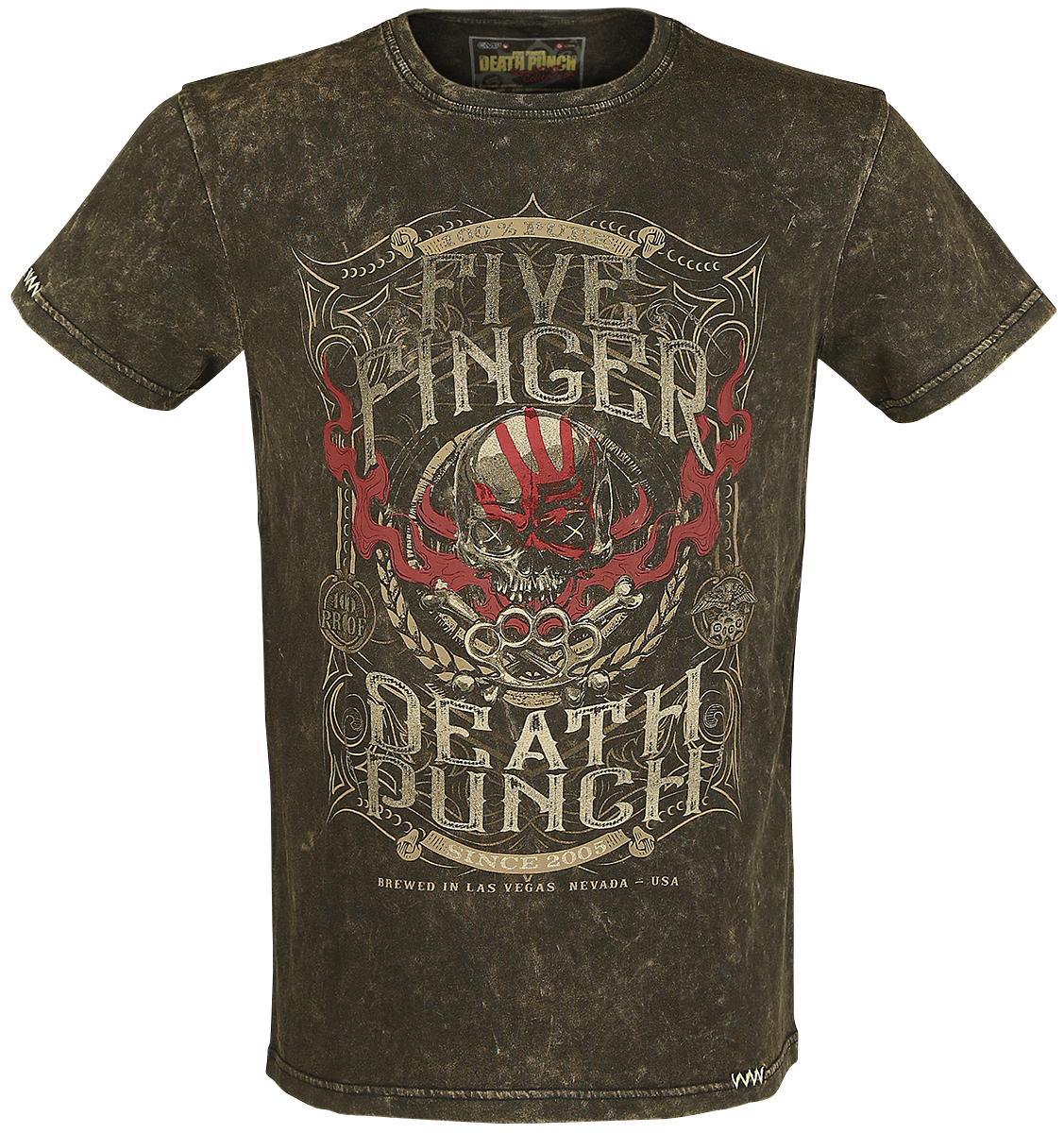Five Finger Death Punch - EMP Signature Collection - T-Shirt - brown image