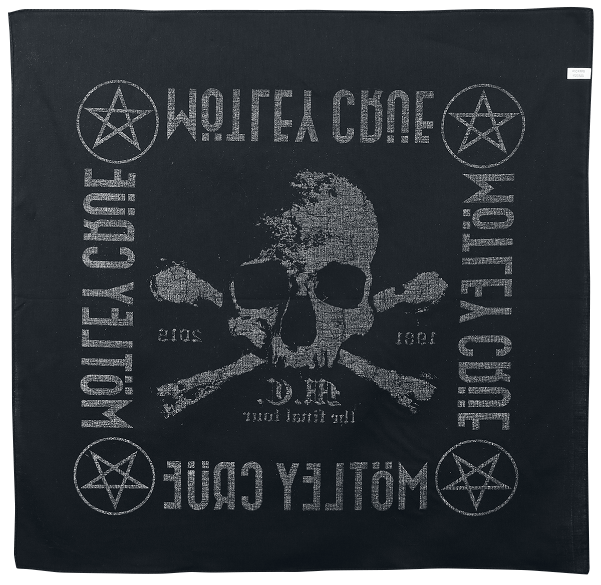 Image of Mötley Crüe The Final Tour - Bandana Bandana Mehrfarbig