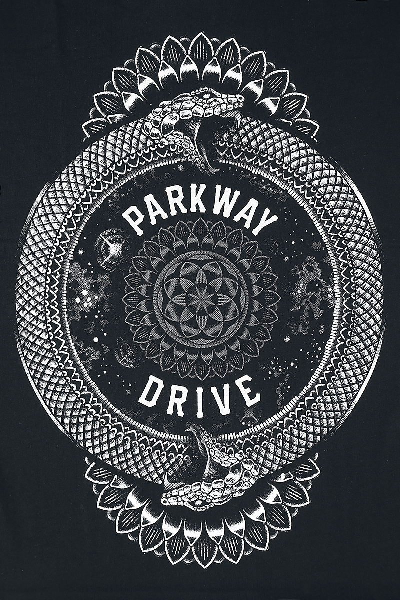 Image of Parkway Drive Infinity Snake T-Shirt schwarz
