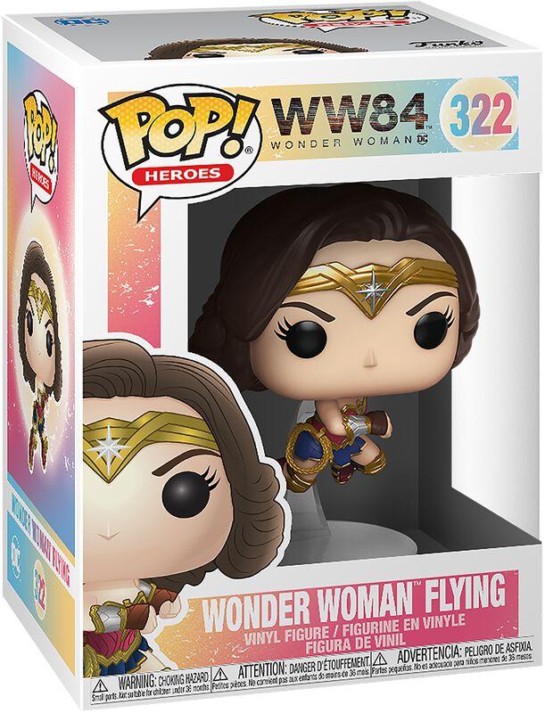 1984 - Wonder Woman Flying Vinyl Figur 322
