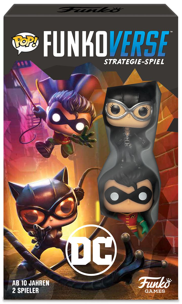 Image of Batman Funkoverse 100 Deutsche Version Brettspiel Standard