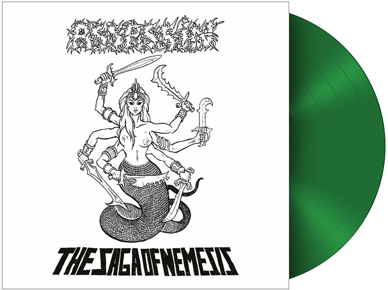 Image of Assassin The saga of Nemesis LP grün