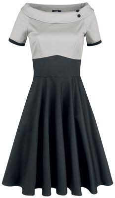 Darlene Retro Full Circle Swing Dress