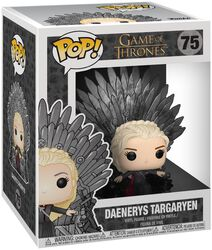 Daenerys Targaryen Iron Throne (POP Deluxe) Vinyl Figure 75