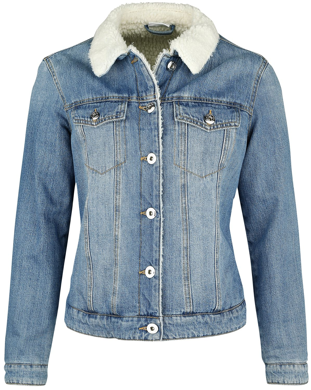 Jacken für Frauen - Noisy May Ada Jeansjacke blau  - Onlineshop EMP