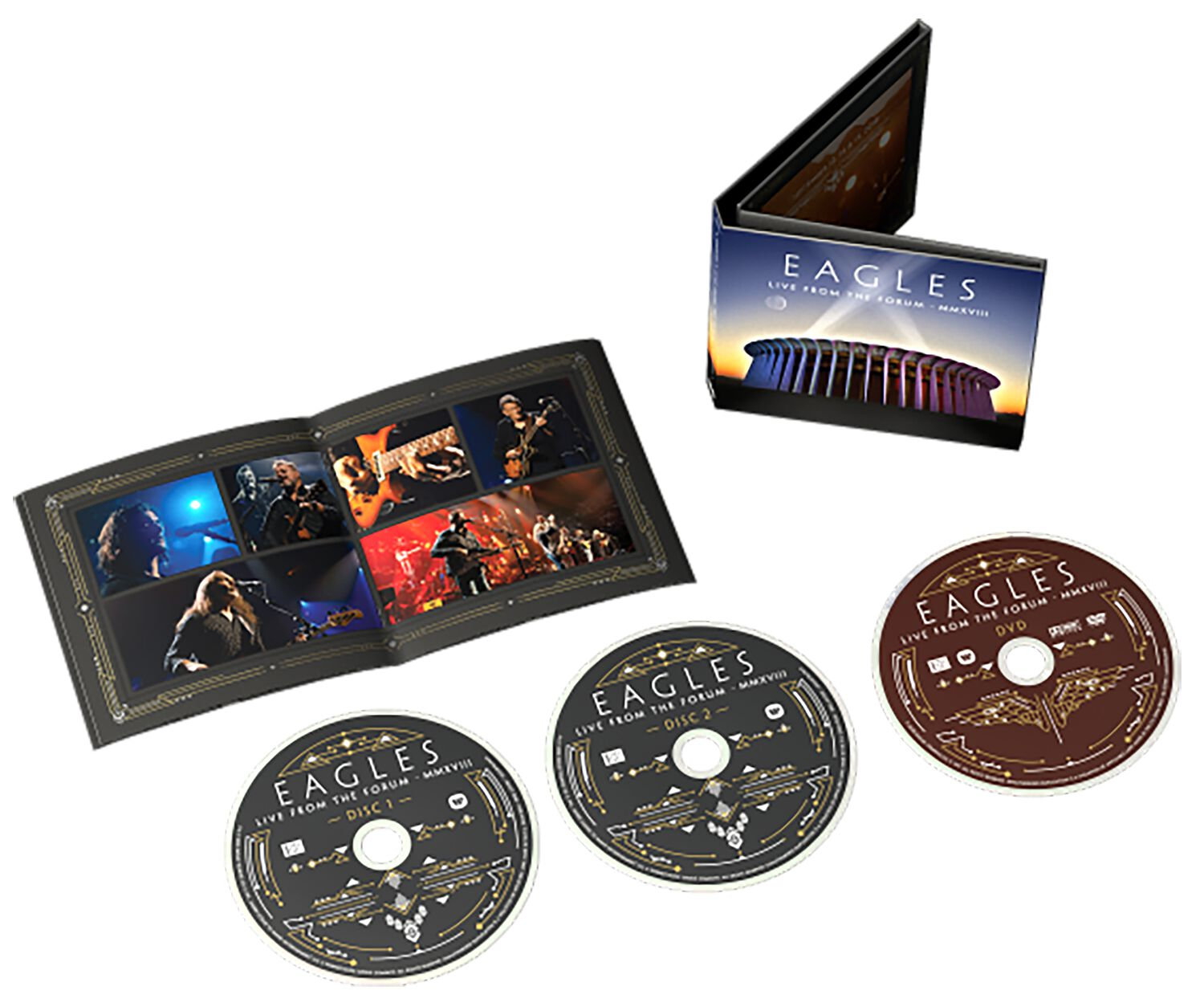 Image of Eagles Live from the Forum MMXVIII 2-CD & DVD Standard