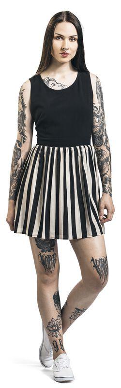 Circus Freak Striped Skater Dress