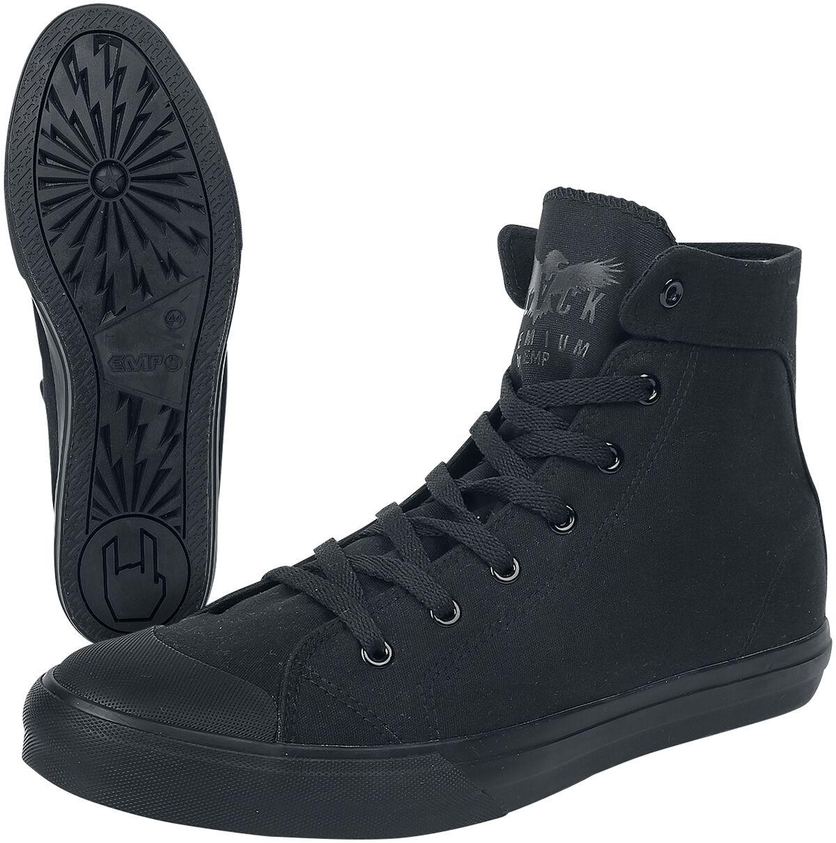 Black Premium by EMP Walk The Line Sneakers High black