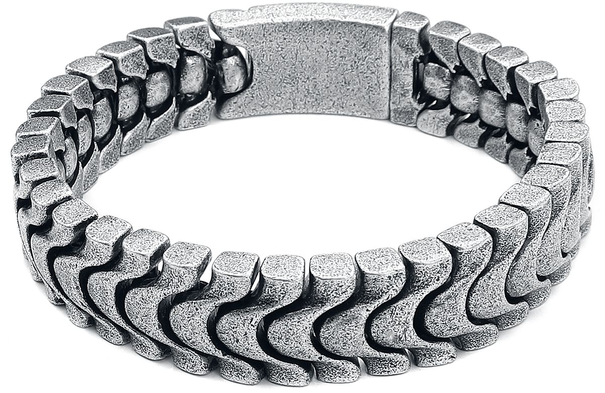 Image of etNox hard and heavy Heavy Chain Armkette silberfarben