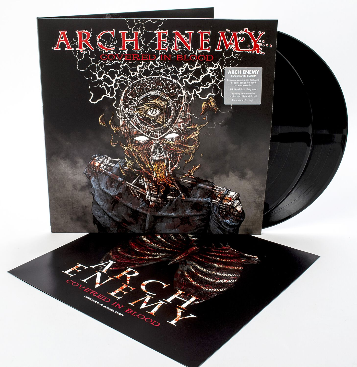 Image of Arch Enemy Covered in blood 2-LP Standard