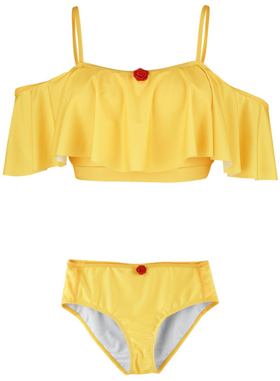 Image of Die Schöne und das Biest Belle Bikini gelb