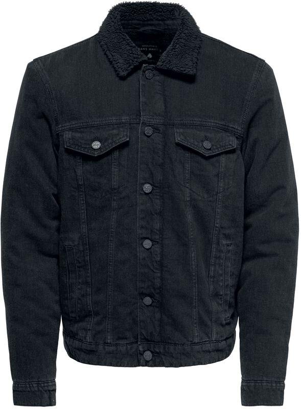 Jeans Jacke mit Teddyfell Louis Jacket