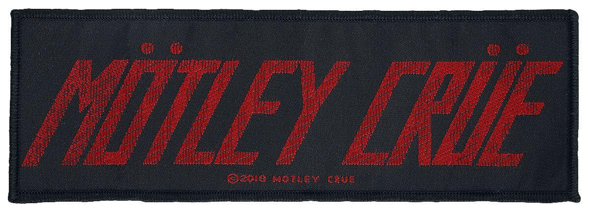 Mötley Crüe Mötley Crüe Logo  Patch  multicolor