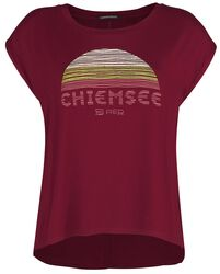 RED X CHIEMSEE - rotes T-Shirt mit Print