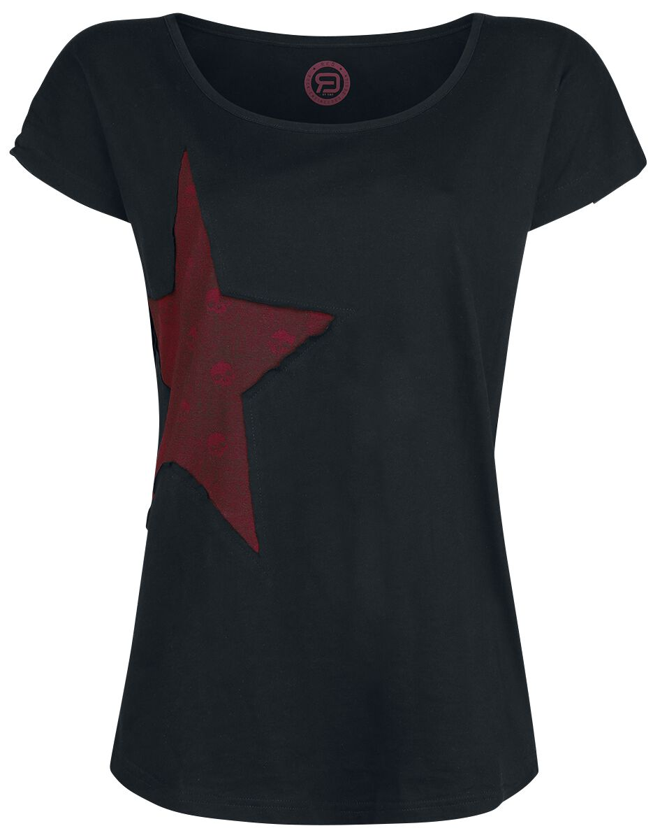 RED by EMP Keep Me Going T-Shirt black