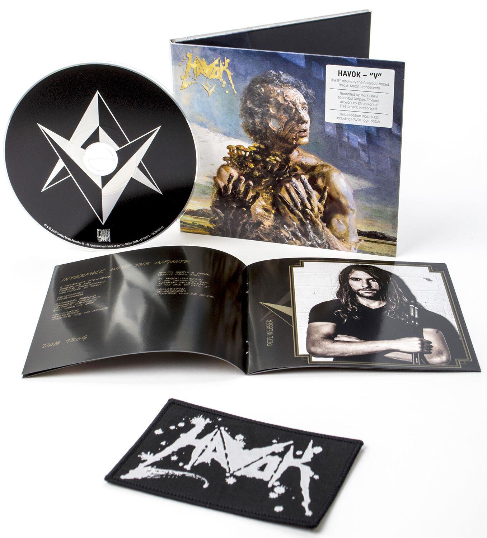 Image of Havok V CD & Patch Standard