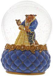 Belle und Biest - Schneekugel
