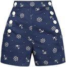 Tina Nautical Shorts