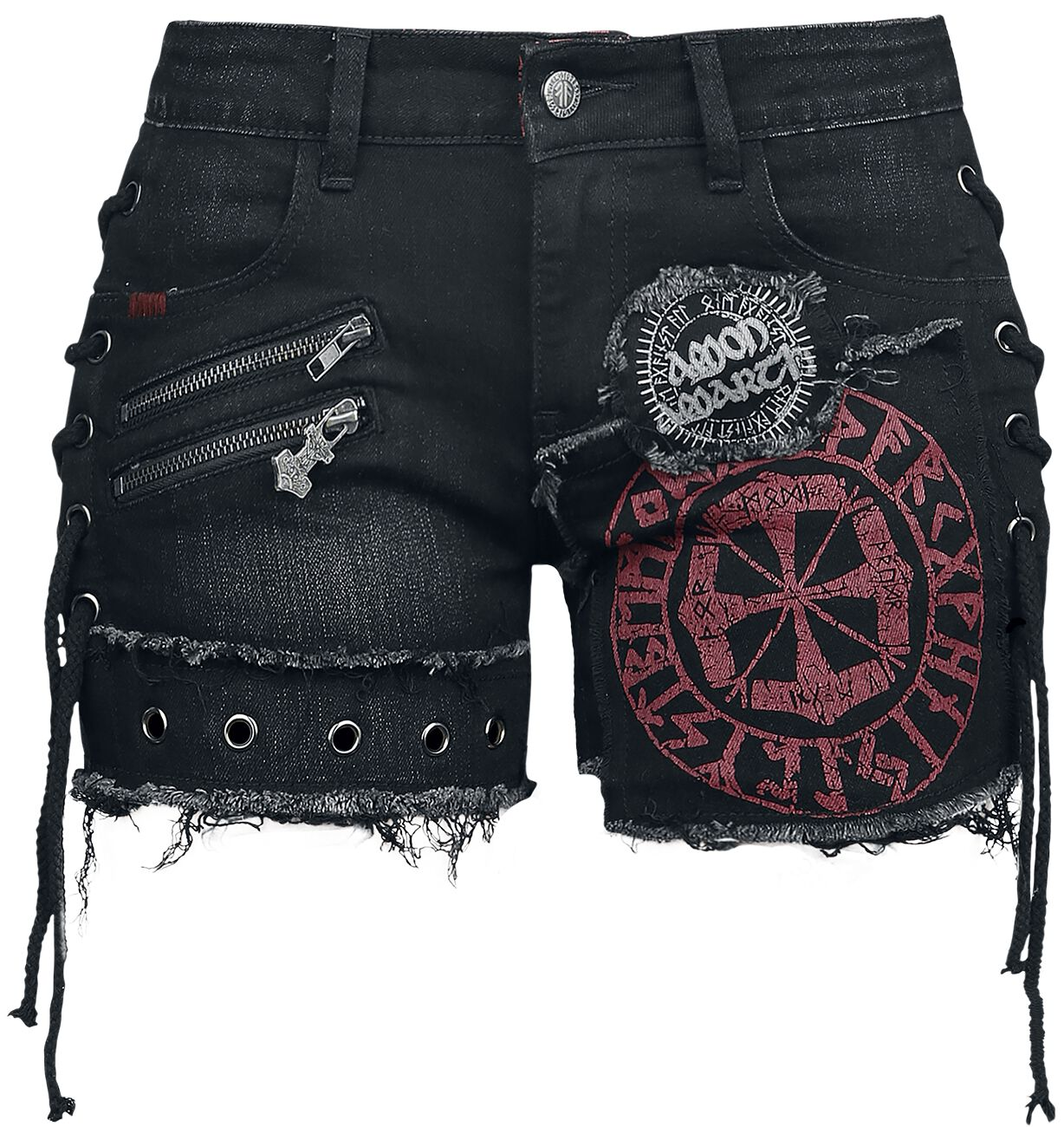 Amon Amarth EMP Signature Collection Shorts black