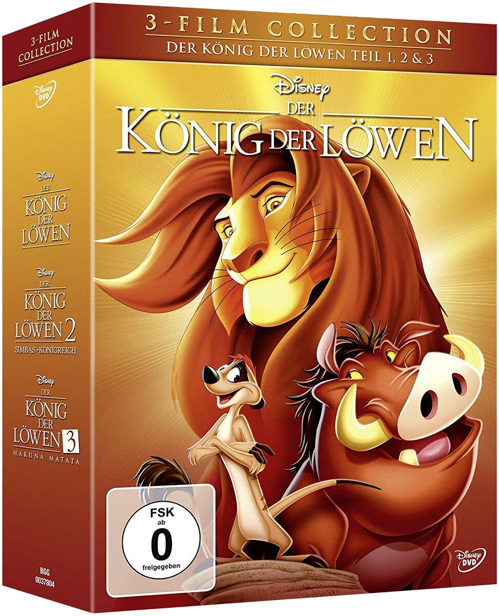 Image of Der König der Löwen Der König der Löwen - 3-Film Collection 3-DVD Standard