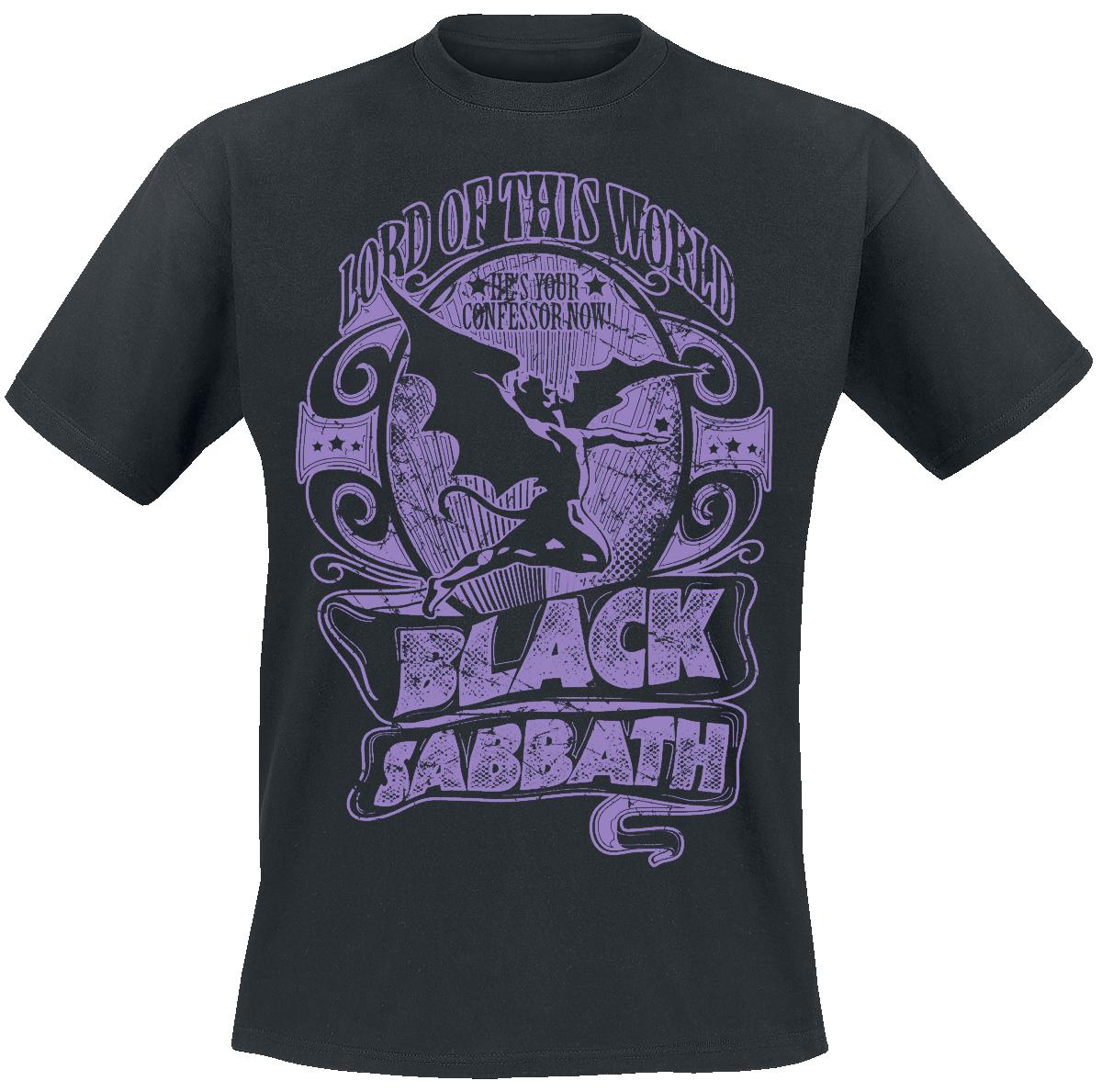 Black Sabbath - Lord Of This World - T-Shirt - black image