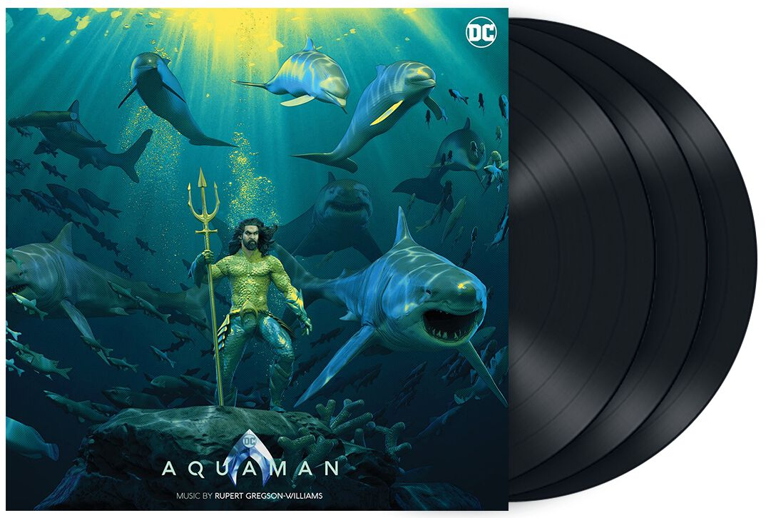 Image of Aquaman Aquaman - Original otion Picture Soundtrack 3-LP Standard
