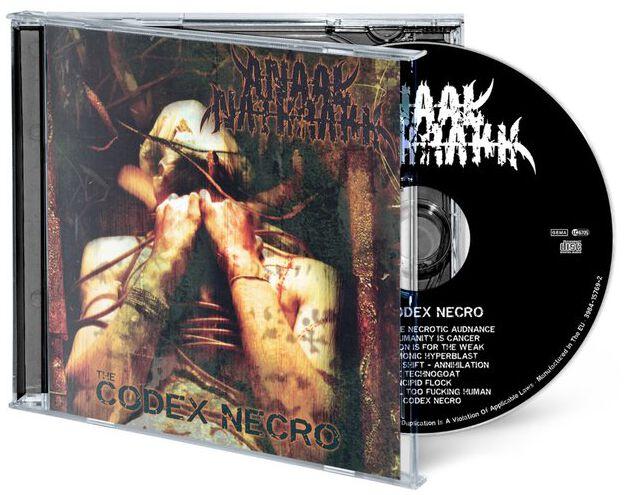 Image of Anaal Nathrakh The codex necro CD Standard