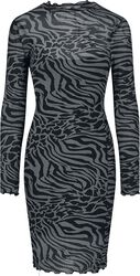 Ladies AOP Double Layer Dress