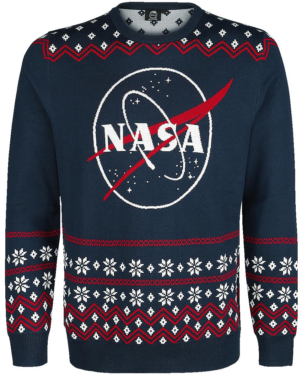 NASA - Logo - Knit sweater - blue image