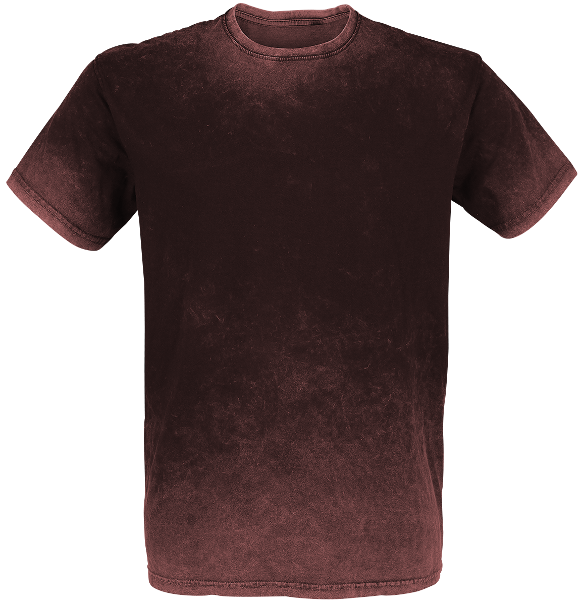 Outer Vision - Retro Stone - T-Shirt - burgundy image