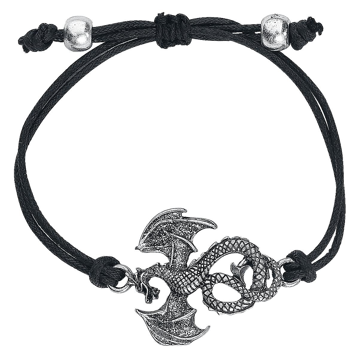 Image of Blackheart Dragon Bracelet Armband-Set Standard