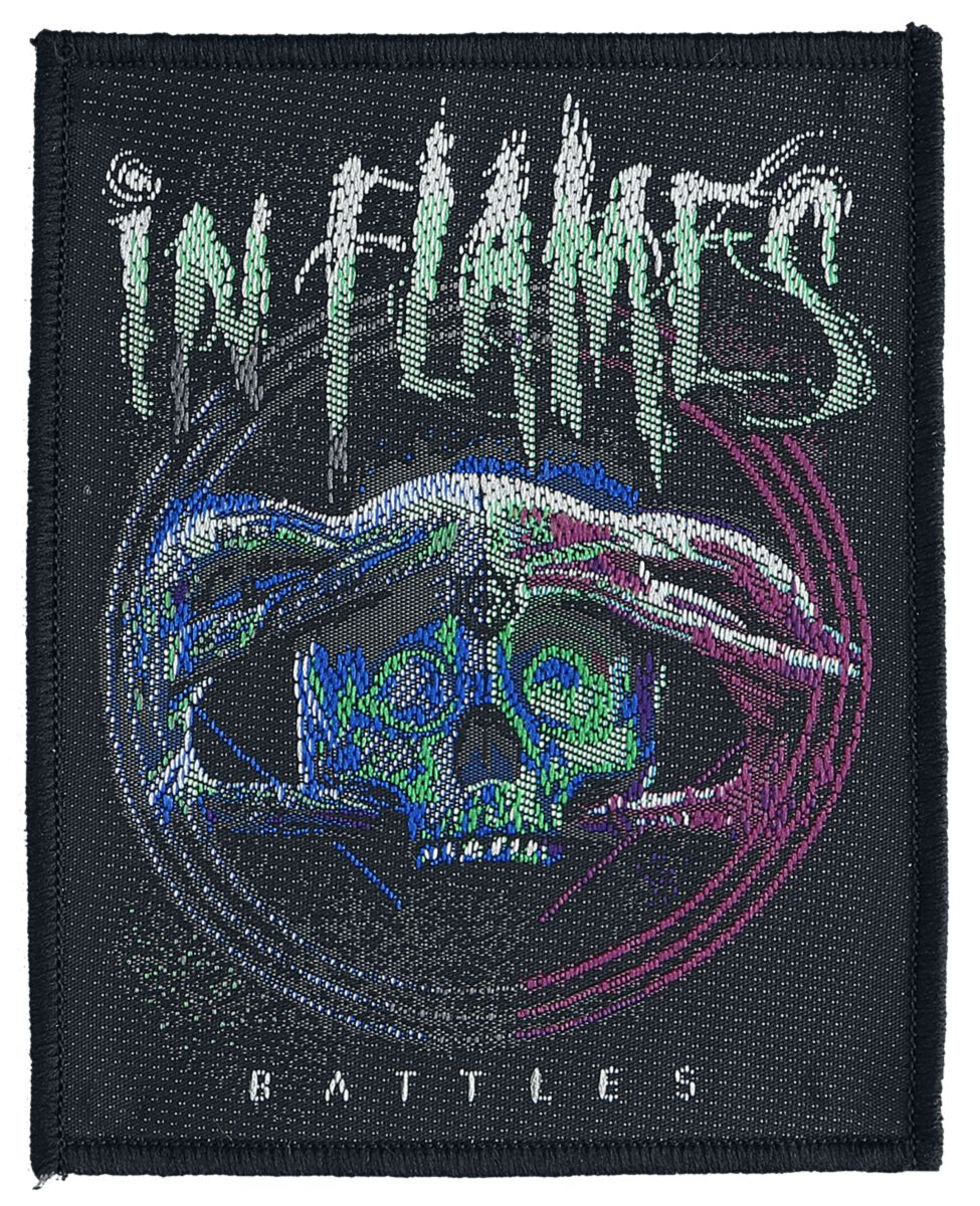 In Flames  Battles  Patch  multicolor