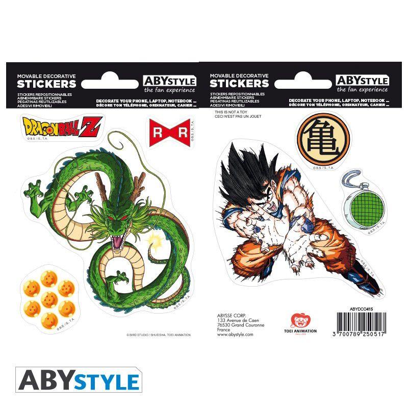 Image of Dragon Ball Goku & Shenron Aufkleber-Set multicolor